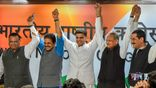 AICC Press briefing on the Chief Minister of Rajasthan by Ashok Gehlot, Sachin Pilot, KC Venugopal
