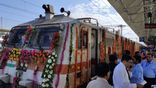 India's first private train Tejas started running on tracks
