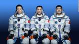 China sent three astronauts to its new space station